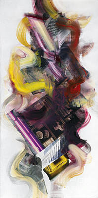 Painting - Mingus Cumbia II by Ritchard Rodriguez
