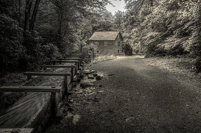 Photograph - Mingus Mill 3 by Mike Eingle