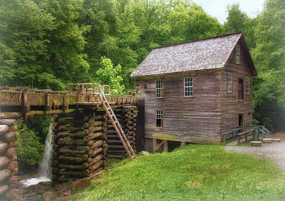 Photograph - Mingus Mill by Carolyn Derstine