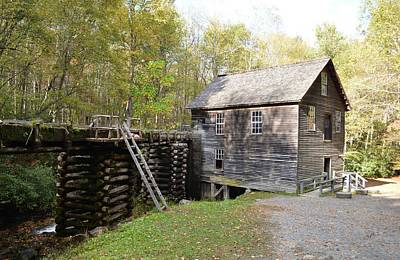 Photograph - Mingus Mill - Great Smoky Mountains by rd Erickson