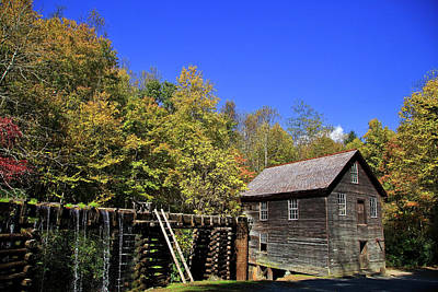 Photograph - Mingus Mill In North Carolina by Jill Lang