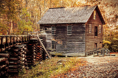 Photograph - Mingus Mill In The Smoky Mountains by Teri Virbickis