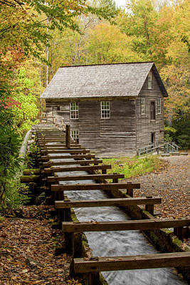 Photograph - Mingus Mill Near State Lines Of Nc And Tn by Willie Harper