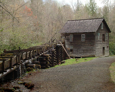 Mingus Mill Art Print
