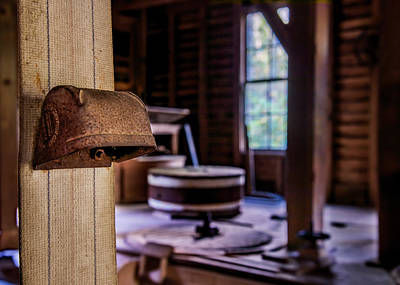 Photograph - Mingus Mill Workings by Andy Crawford