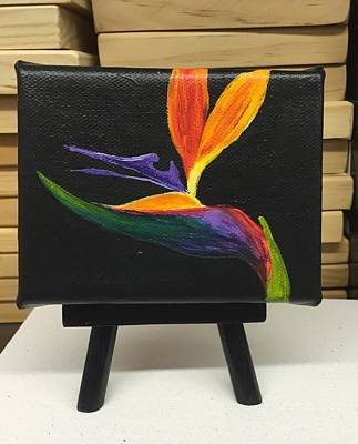 Painting - Mini Bird Of Paradise by Darice Machel McGuire