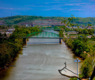Photograph - Mini Bridges In Parkersburg by Jonny D