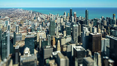 Photograph - Mini Chicago by Randy Scherkenbach