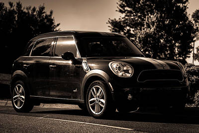 Photograph - Mini Cooper by Anthony Doudt