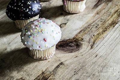 Photograph - Mini Cupcakes 2 by Naomi Burgess