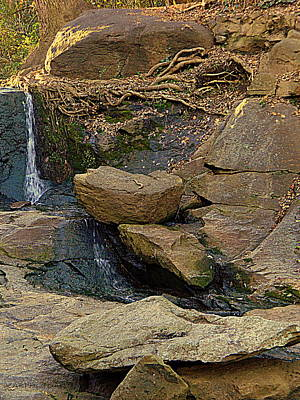 Photograph - Mini Falls by Kathy Barney