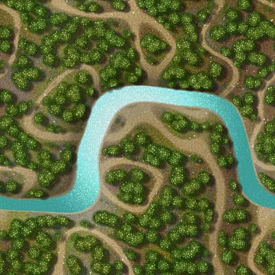 Mannequin Dresses - Mini landscape generated hires background by Miroslav Nemecek
