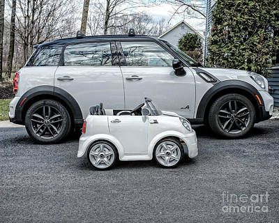 Toy Car Photograph - Mini Mini by Edward Fielding