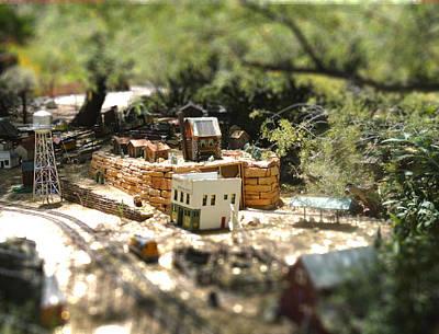 Photograph - Mini Train Town by Mozelle Beigel Martin