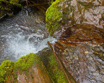 Photograph - Mini Waterfall by Carys Rogers