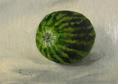 Painting - Mini Watermelon by Grace Diehl