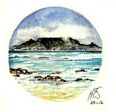 Painting - Miniature Cape Town by Heidi Kriel