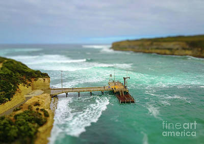 Photograph - Miniature Jetty by Howard Ferrier