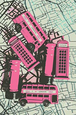 Lime Wall Art - Photograph - Miniature London Town by Jorgo Photography - Wall Art Gallery