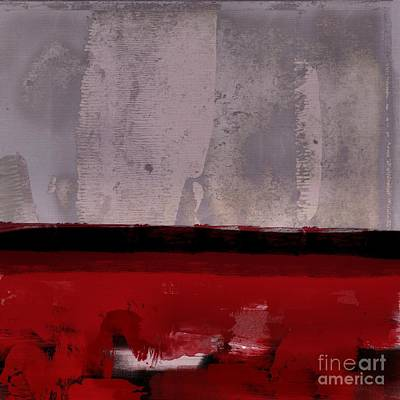 Red Abstracts Digital Art - Minima - R1at2f by Variance Collections