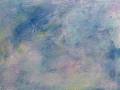 Atmospheric Painting - Minimal 9 by James W Johnson