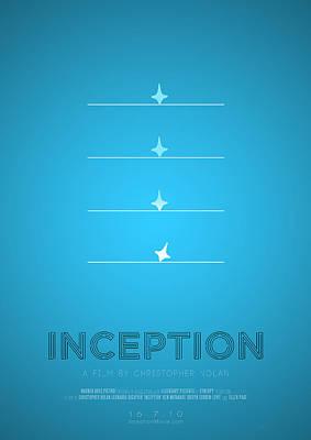 Christopher Nolan Digital Art - Inception by Mohit Sebastian