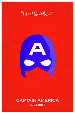 Comics Royalty-Free and Rights-Managed Images - Minimal Movie Poster III by Ricky Barnard