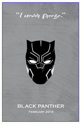 Comics Royalty-Free and Rights-Managed Images - Minimal Movie Poster V by Ricky Barnard
