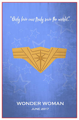 Comics Royalty-Free and Rights-Managed Images - Minimal Movie Poster VI by Ricky Barnard