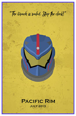 Comics Royalty-Free and Rights-Managed Images - Minimal Movie Poster X by Ricky Barnard