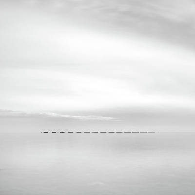 Water Filter Photograph - Minimal Sea by Stelios Kleanthous