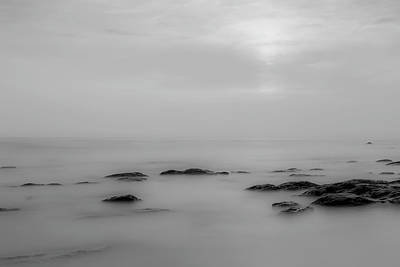 Photograph - Minimalist Seascape by Georgia Fowler
