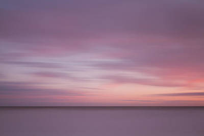 Photograph - Minimalist Sunset by Will Gudgeon