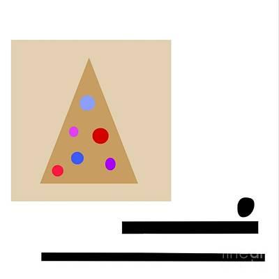 Minimalistic Christmas Art Print