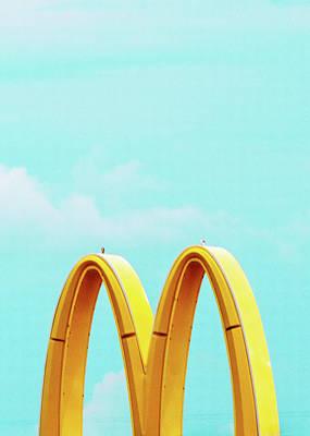 Photograph - Minimalistic Mcdonald's by Dylan Murphy