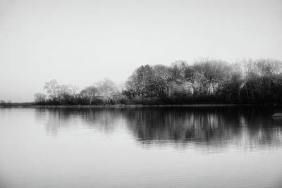 Photograph - Minimalistic Nature - Black And White by Lilia D