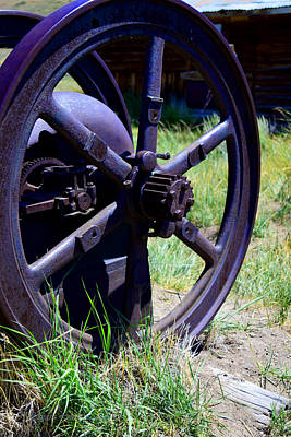 Photograph - Mining Equipment by Sandra Lynn