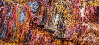 Photograph - Mining Rocks #5 by Lexa Harpell