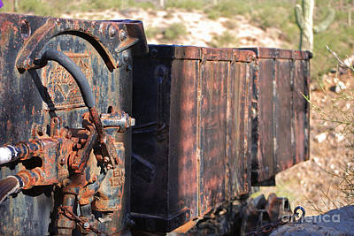 Photograph - Mining Train by Donna Greene