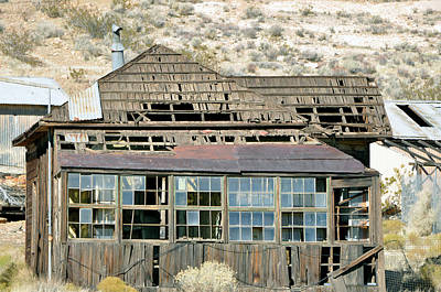 Rosamond California Photograph - Mining Twon by Larry Holt