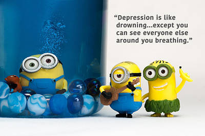 Photograph - Minion Quote 10 by Tim Nichols