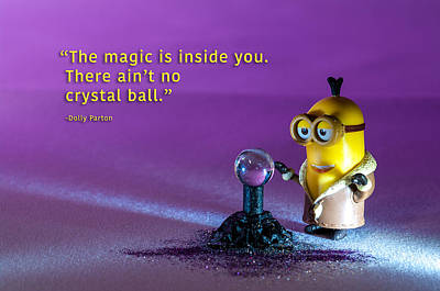 Photograph - Minion Quote 15 by Tim Nichols