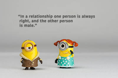 Photograph - Minion Quote 17 by Tim Nichols