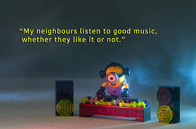 Photograph - Minion Quote 18 by Tim Nichols