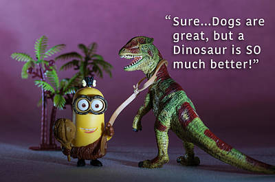 Photograph - Minion Quote 2 by Tim Nichols
