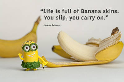 Photograph - Minion Quote 3 by Tim Nichols