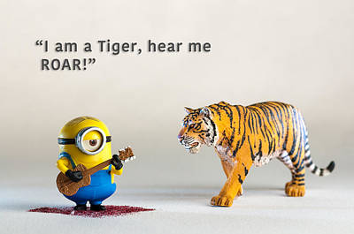 Photograph - Minion Quote 4 by Tim Nichols