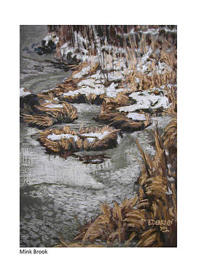 Pastel - Mink Brook I by Betsy Derrick