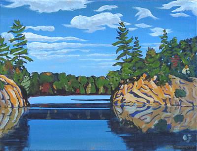 Mink Lake Gap Art Print