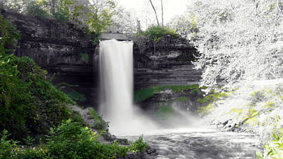 Photograph - Minne Haha Falls by Cj Mainor